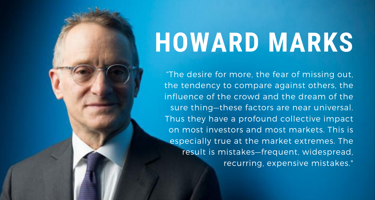 Finanza – The Most Important Thing di Howard Marks