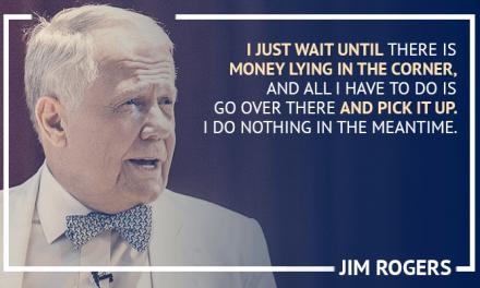 Investimenti – Jim Rogers, Passare da $600 a $300 milioni